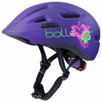 2021 Bollé Helm Stance Junior purple flower