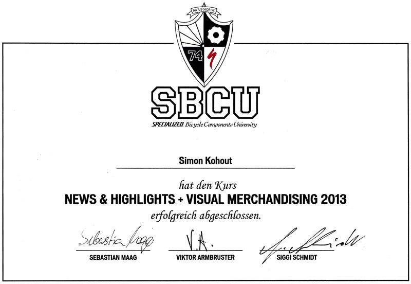 SBCU Zertifikat