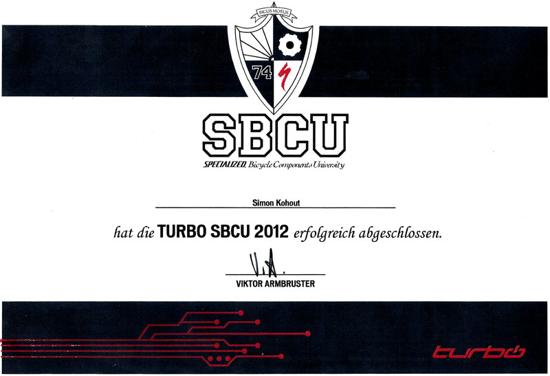 Turbo SBCU Zertifikat