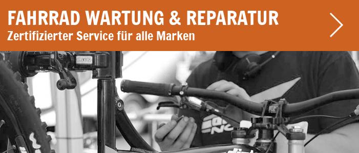 Fahrrad-Werkstatt mit top Service