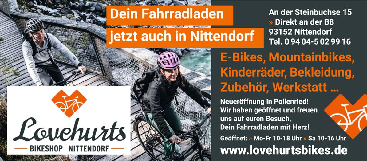 Lovehurts Bikes Nittendorf